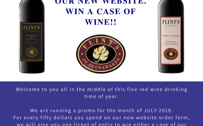 Win a case of wine of your choice