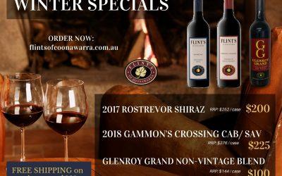 Winter Wine Specials